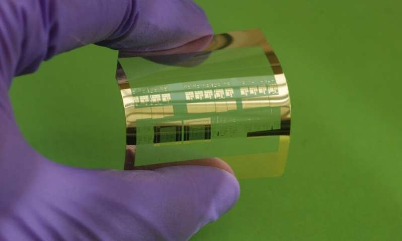 With Simple Process, Engineers Fabricate Fastest Flexible Silicon Transistor